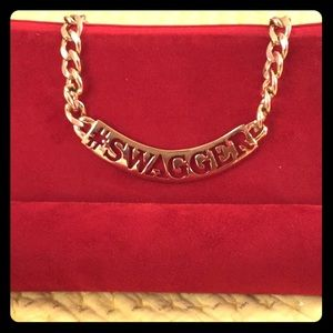 Gold #swagger necklace